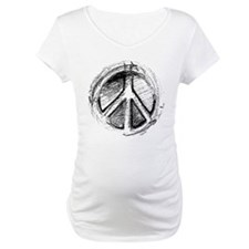 Grunge Urban Peace Sign Shirt