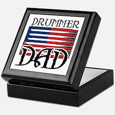 Father's Day Drummer Dad Keepsake Box