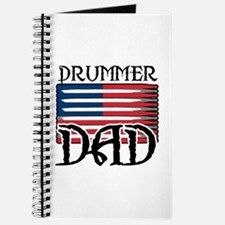 Father's Day Drummer Dad Journal