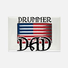 Father's Day Drummer Dad Rectangle Magnet