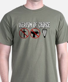 Lacrosse weapon of Choice T-Shirt
