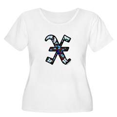 Stained Glass X2 T-Shirt