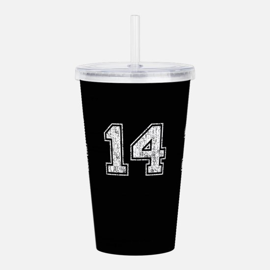 Retro 14 Acrylic Double-wall Tumbler