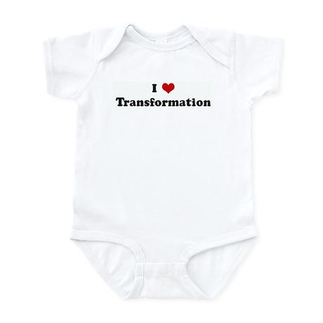 I Love Transformation Infant Bodysuit