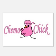 Chemo Chick Chemotherapy Postcards (Package of 8)