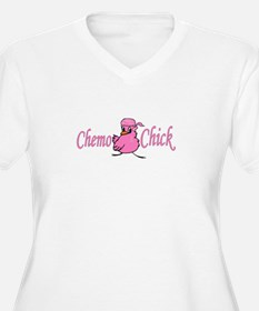 Chemo Chick Chemotherapy T-Shirt