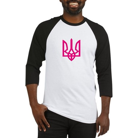 pink tryzub Baseball Jersey