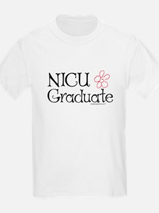 NICU Graduate (Flower) - T-Shirt
