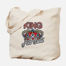 Father's Day King of the Castle Tote Bag