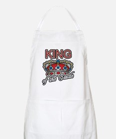 Father's Day King of the Castle BBQ Apron