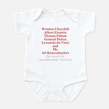 Famous Homeschoolers Infant Bodysuit