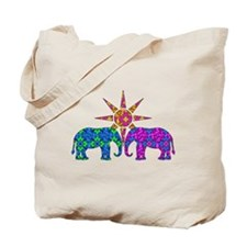 Unique Pretty elephant Tote Bag