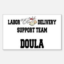 Doula Rectangle Decal
