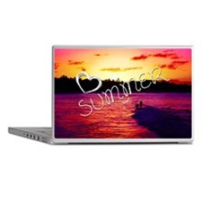 Summer Love Beach Sunset Inspiring Ph Laptop Skins