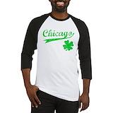 Chicago shamrock Long Sleeve T Shirts
