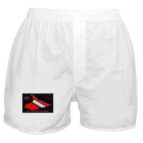 Cave Diver Dive Flag Boxer Shorts