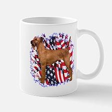 Irish Terrier Patriotic Mug