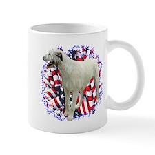 Irish Wolfhound Patriotic Mug
