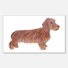 teal_mug_dachshund_wirehaired Decal