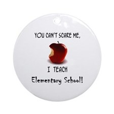 Unique Kindergarten teacher Ornament (Round)