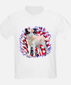 "Lab ""YLW"" Patriotic T-Shirt"