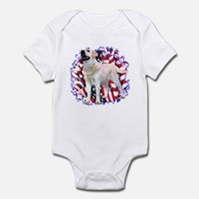 "Lab ""YLW"" Patriotic Infant Bodysuit"