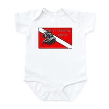 Grim Reaper Tech Dive Flag Infant Bodysuit