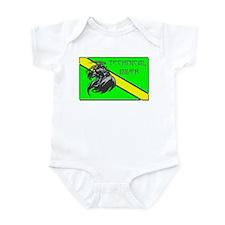 Grim Reaper Tri Mix Infant Bodysuit