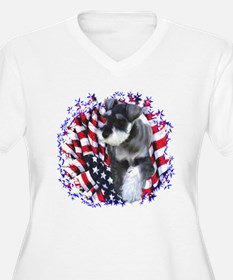 Mini Schnauzer Patriotic T-Shirt