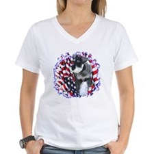 Mini Schnauzer Patriotic Shirt