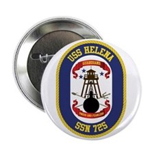 "Uss Helena Ssn-725 2.25"" Button"