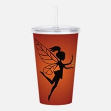Fairy With Pixie dust Acrylic Double-wall Tumbler
