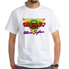 Club Area 51 Altair System White T-Shirt