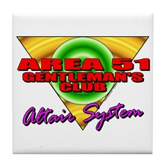 Club Area 51 Altair System Tile Coaster