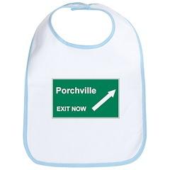 Porchville Exit Bib