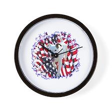 Parson Patriotic Wall Clock