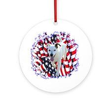 Parson Patriotic Ornament (Round)