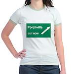 Porchville Exit Jr. Ringer T-Shirt