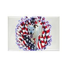 Parson Patriotic Rectangle Magnet