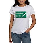 Porchville Exit Women's T-Shirt