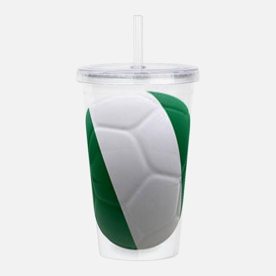 Nigeria World Cup Ball Acrylic Double-wall Tumbler