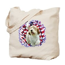 PBGV Patriotic Tote Bag