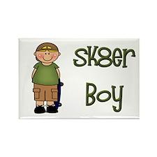 Skater Boy Rectangle Magnet