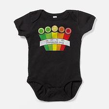 Unique Ghost Baby Bodysuit