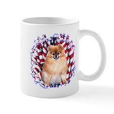 Pomeranian Patriotic Mug