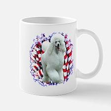 Poodle Patriotic Mug