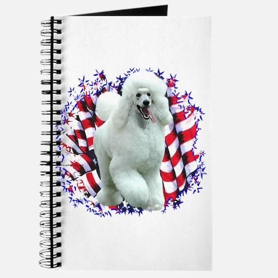 Poodle Patriotic Journal