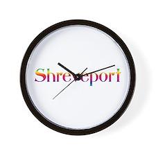 Shreveport Wall Clock
