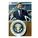 President John F. Kennedy Postcards (Package of 8)