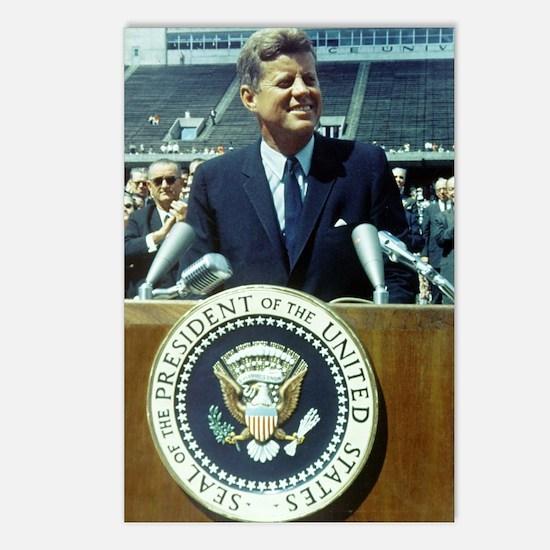 President John F. Kennedy Postcards (Package of 8)